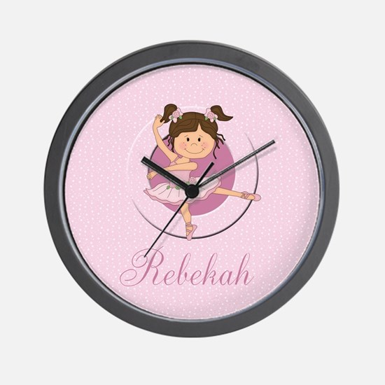 Cute Ballerina Ballet Gifts Wall Clock