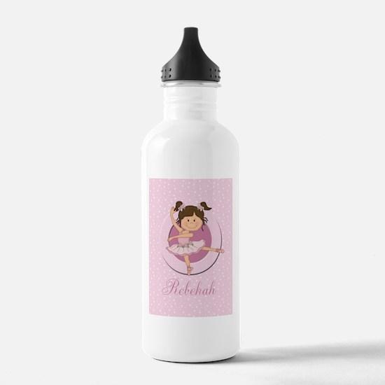 Cute Ballerina Ballet Gifts Water Bottle