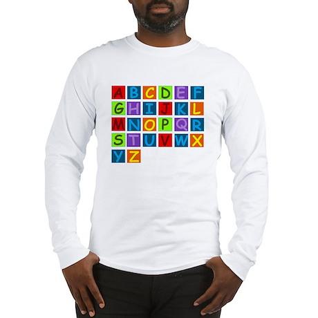 Rainbow ABC's Long Sleeve T-Shirt