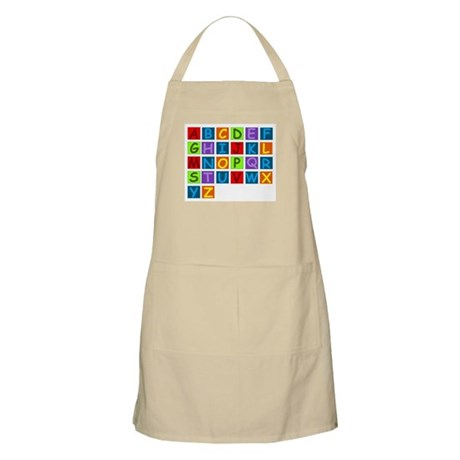 Rainbow ABC's Apron