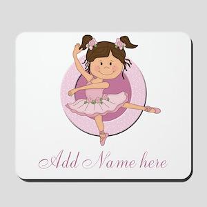 Cute Ballerina Ballet Gifts Mousepad