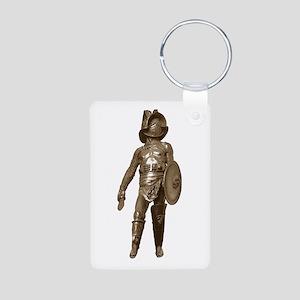 Gladiator Aluminum Photo Keychain