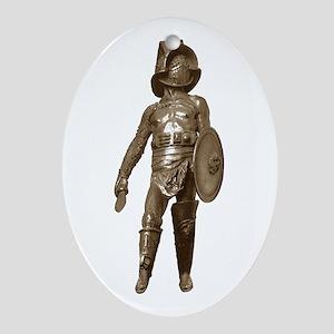 Gladiator Ornament (Oval)