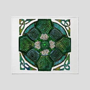 Connemara Cross Throw Blanket