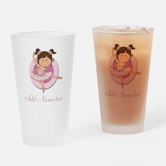 Cute Ballerina Ballet Gifts Drinking Glass