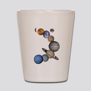 Planet Swirl Shot Glass