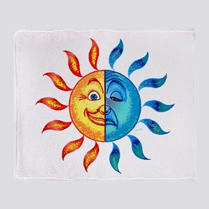 BiPolar Solar Throw Blanket