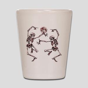 Danse Macabre Shot Glass
