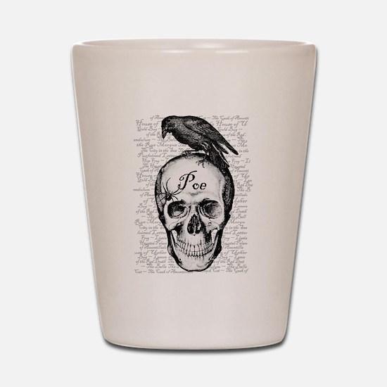 Raven Poe Shot Glass