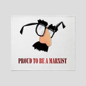 Marxist Throw Blanket
