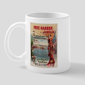 1899 Free harbor jubilee, Los Mug