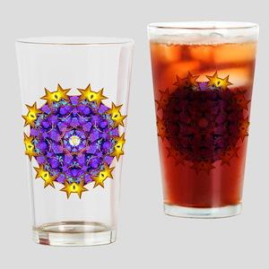 Dharma Wheel Drinking Glass