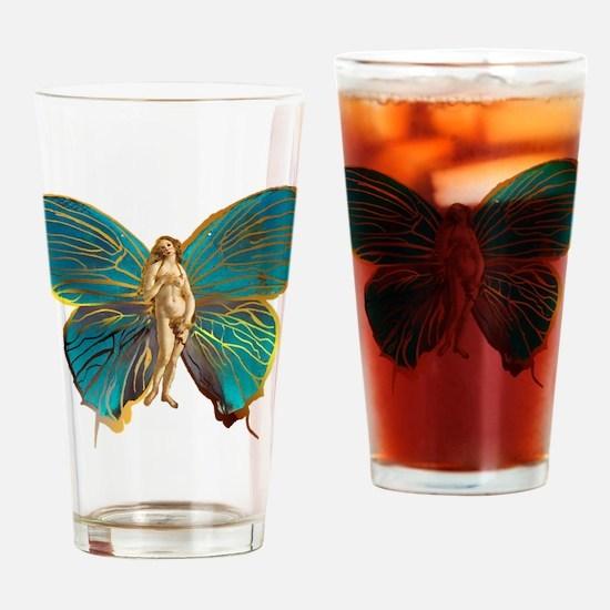 Venus Butterfly Drinking Glass