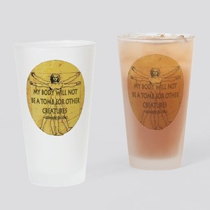 Body Tomb Drinking Glass
