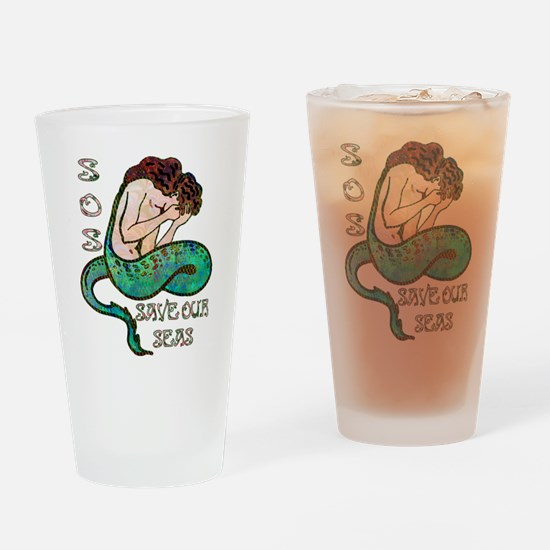 Save Our Seas Drinking Glass