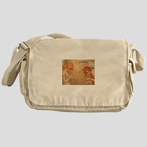Jamming Angels Holiday Messenger Bag