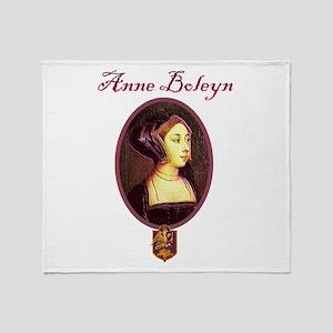 Anne Boleyn - Woman Throw Blanket