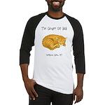 Ginger Cat Baseball Jersey