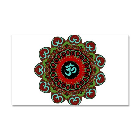 Om of Chaos Car Magnet 20 x 12