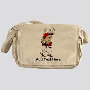 Personalized cute cartoon bas Messenger Bag