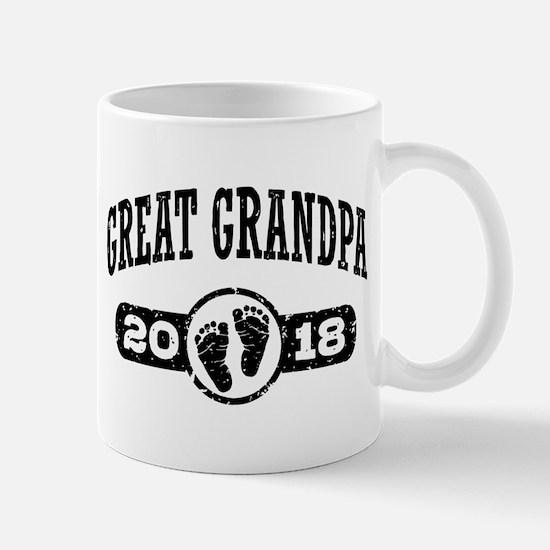 Great Grandpa 2018 Mug