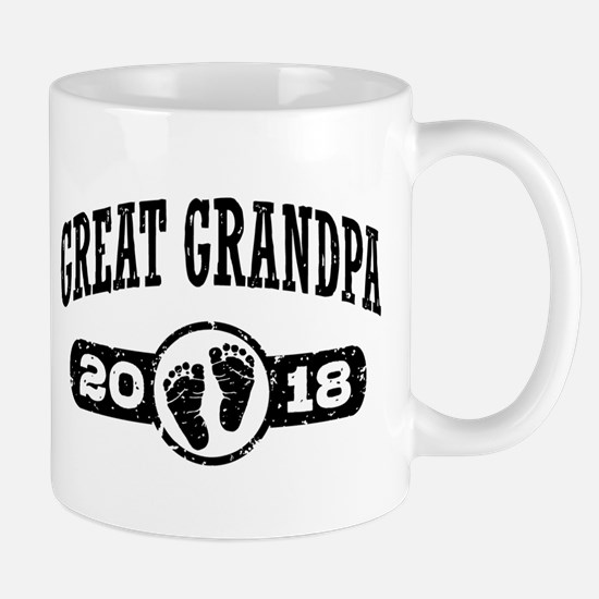 Great Grandpa 2018 Small Mug
