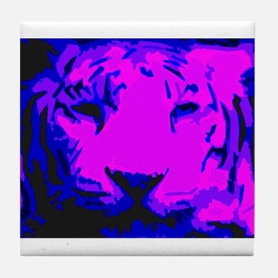 Tiger Face Tile Coaster