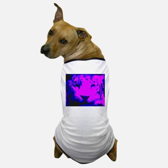 Tiger Face Dog T-Shirt
