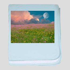 Evening Fields Baby Blanket