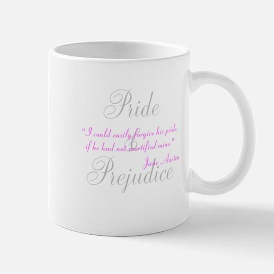 Jane Austen Pride Quotes Hous Mug