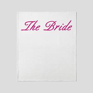 The Bride Throw Blanket