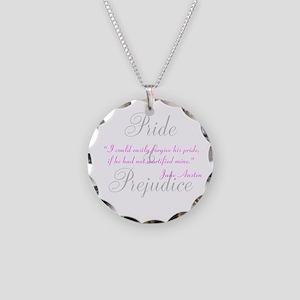 Jane Austen Pride Quotes Jewe Necklace Circle Char