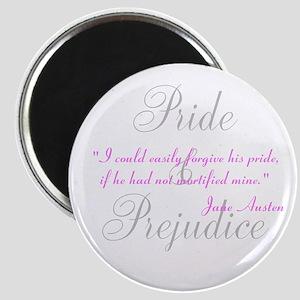 Jane Austen Pride Quotes Pape Magnet