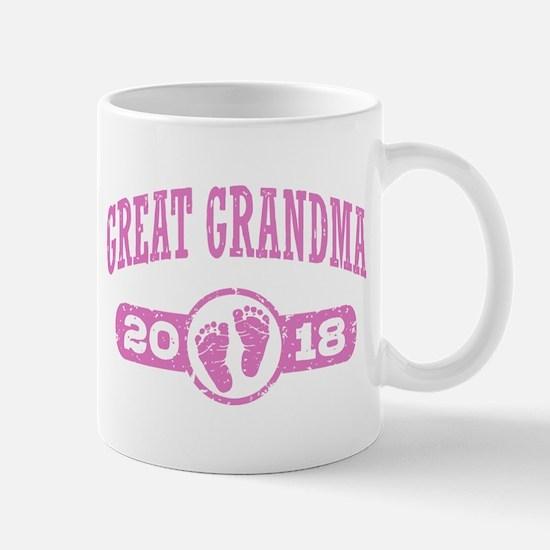 Great Grandma 2018 Small Mug