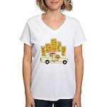 City Dog Women's V-Neck T-Shirt