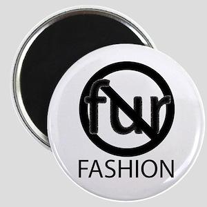 No Fur Fashion Magnet