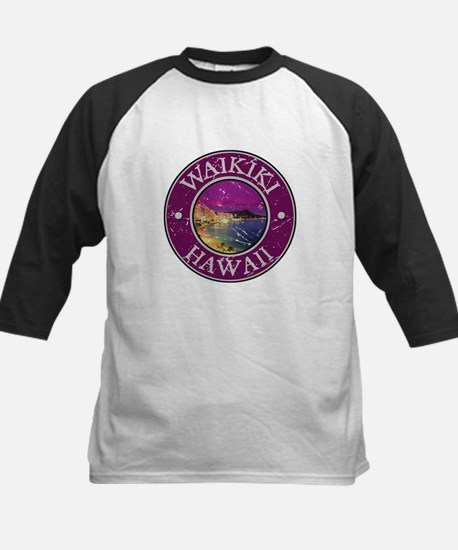 Waikiki, Hawaii Kids Baseball Jersey