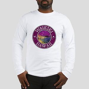 Waikiki, Hawaii Long Sleeve T-Shirt