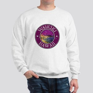 Waikiki, Hawaii Sweatshirt