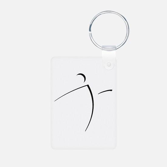 Nano Disc Golf SHADOW Logo Keychains
