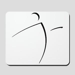 Nano Disc Golf SHADOW Logo Mousepad