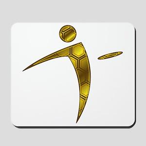 Nano Disc Golf HONEYCOMB Logo Mousepad
