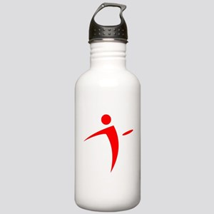 Nano Disc Golf RED Logo Stainless Water Bottle 1.0