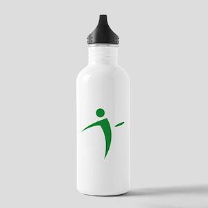 Nano Disc Golf GREEN Logo Stainless Water Bottle 1