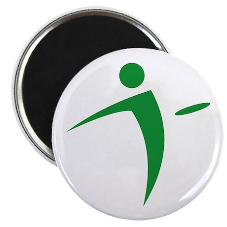 Nano Disc Golf GREEN Logo Magnet