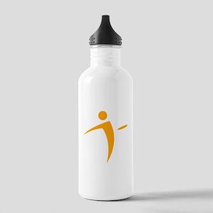 Nano Disc Golf ORANGE Logo Stainless Water Bottle