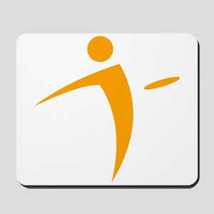 Nano Disc Golf ORANGE Logo Mousepad
