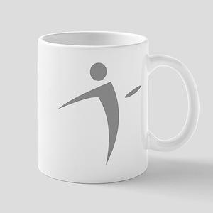 Nano Disc Golf GRAY Logo Mug