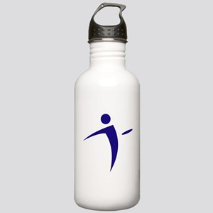 Nano Disc Golf BLUE Logo Stainless Water Bottle 1.