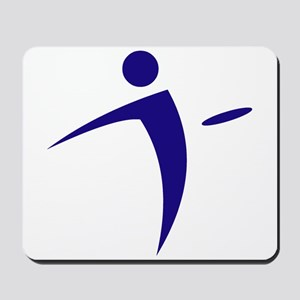 Nano Disc Golf BLUE Logo Mousepad